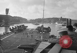 Image of aircraft carrier in Hawaii Pearl Harbor Hawaii USA, 1949, second 13 stock footage video 65675071363