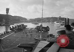 Image of aircraft carrier in Hawaii Pearl Harbor Hawaii USA, 1949, second 15 stock footage video 65675071363