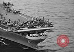 Image of aircraft carrier in Hawaii Pearl Harbor Hawaii USA, 1949, second 27 stock footage video 65675071363