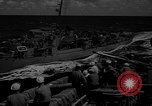 Image of aircraft carrier in Hawaii Pearl Harbor Hawaii USA, 1949, second 37 stock footage video 65675071363