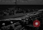 Image of aircraft carrier in Hawaii Pearl Harbor Hawaii USA, 1949, second 39 stock footage video 65675071363