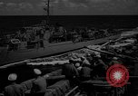 Image of aircraft carrier in Hawaii Pearl Harbor Hawaii USA, 1949, second 40 stock footage video 65675071363