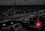 Image of aircraft carrier in Hawaii Pearl Harbor Hawaii USA, 1949, second 41 stock footage video 65675071363