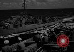 Image of aircraft carrier in Hawaii Pearl Harbor Hawaii USA, 1949, second 42 stock footage video 65675071363