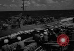 Image of aircraft carrier in Hawaii Pearl Harbor Hawaii USA, 1949, second 46 stock footage video 65675071363