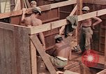 Image of Seabees Pacific Theater, 1945, second 16 stock footage video 65675071382
