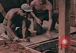 Image of Seabees Pacific Theater, 1945, second 22 stock footage video 65675071382