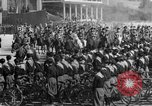Image of Benito Mussolini and entourage on Horseback Italy, 1925, second 20 stock footage video 65675071385