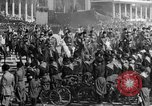 Image of Benito Mussolini and entourage on Horseback Italy, 1925, second 28 stock footage video 65675071385