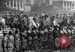 Image of Benito Mussolini and entourage on Horseback Italy, 1925, second 29 stock footage video 65675071385