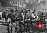 Image of Benito Mussolini and entourage on Horseback Italy, 1925, second 31 stock footage video 65675071385