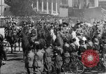 Image of Benito Mussolini and entourage on Horseback Italy, 1925, second 32 stock footage video 65675071385