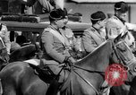 Image of Benito Mussolini and entourage on Horseback Italy, 1925, second 35 stock footage video 65675071385