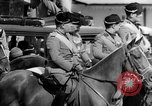 Image of Benito Mussolini and entourage on Horseback Italy, 1925, second 36 stock footage video 65675071385