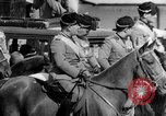 Image of Benito Mussolini and entourage on Horseback Italy, 1925, second 37 stock footage video 65675071385