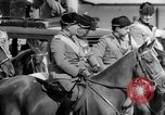 Image of Benito Mussolini and entourage on Horseback Italy, 1925, second 38 stock footage video 65675071385