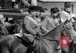 Image of Benito Mussolini and entourage on Horseback Italy, 1925, second 39 stock footage video 65675071385
