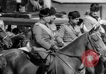 Image of Benito Mussolini and entourage on Horseback Italy, 1925, second 40 stock footage video 65675071385