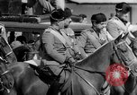 Image of Benito Mussolini and entourage on Horseback Italy, 1925, second 42 stock footage video 65675071385