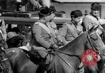 Image of Benito Mussolini and entourage on Horseback Italy, 1925, second 44 stock footage video 65675071385