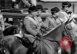 Image of Benito Mussolini and entourage on Horseback Italy, 1925, second 46 stock footage video 65675071385