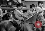 Image of Benito Mussolini and entourage on Horseback Italy, 1925, second 47 stock footage video 65675071385
