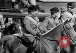 Image of Benito Mussolini and entourage on Horseback Italy, 1925, second 48 stock footage video 65675071385