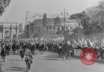 Image of Benito Mussolini and entourage on Horseback Italy, 1925, second 52 stock footage video 65675071385