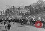 Image of Benito Mussolini and entourage on Horseback Italy, 1925, second 53 stock footage video 65675071385