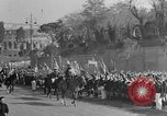 Image of Benito Mussolini and entourage on Horseback Italy, 1925, second 55 stock footage video 65675071385