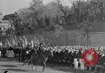 Image of Benito Mussolini and entourage on Horseback Italy, 1925, second 57 stock footage video 65675071385