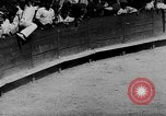 Image of bull fighting Spain, 1943, second 2 stock footage video 65675071387