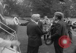 Image of official reception Washington DC USA, 1963, second 20 stock footage video 65675071403