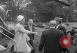Image of official reception Washington DC USA, 1963, second 23 stock footage video 65675071403