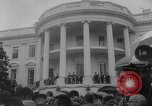Image of official reception Washington DC USA, 1963, second 37 stock footage video 65675071403
