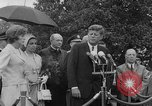 Image of official reception Washington DC USA, 1963, second 42 stock footage video 65675071403