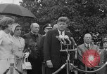 Image of official reception Washington DC USA, 1963, second 43 stock footage video 65675071403
