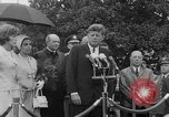 Image of official reception Washington DC USA, 1963, second 44 stock footage video 65675071403