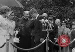 Image of official reception Washington DC USA, 1963, second 49 stock footage video 65675071403
