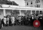 Image of official reception Washington DC USA, 1963, second 55 stock footage video 65675071403