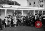Image of official reception Washington DC USA, 1963, second 56 stock footage video 65675071403