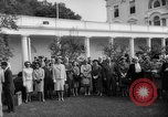 Image of official reception Washington DC USA, 1963, second 57 stock footage video 65675071403
