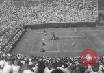 Image of US National singles tennis match 1963 Forest Hills New York USA, 1963, second 6 stock footage video 65675071404