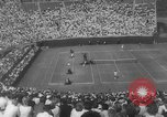 Image of US National singles tennis match 1963 Forest Hills New York USA, 1963, second 7 stock footage video 65675071404