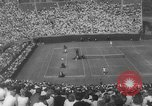 Image of US National singles tennis match 1963 Forest Hills New York USA, 1963, second 8 stock footage video 65675071404