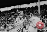Image of rodeo Pendleton Oregon USA, 1955, second 6 stock footage video 65675071442