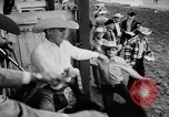 Image of rodeo Pendleton Oregon USA, 1955, second 17 stock footage video 65675071442