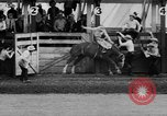Image of rodeo Pendleton Oregon USA, 1955, second 19 stock footage video 65675071442