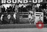 Image of rodeo Pendleton Oregon USA, 1955, second 26 stock footage video 65675071442