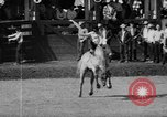 Image of rodeo Pendleton Oregon USA, 1955, second 30 stock footage video 65675071442